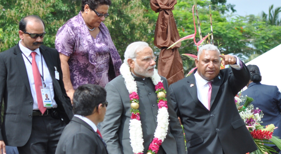 Narendra Modi In Fiji